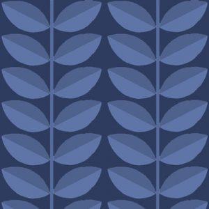 dogwood-cobalt-on-cobalt fabric-pattern