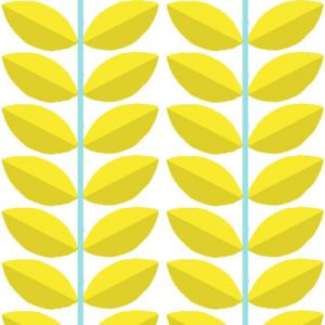 DOGWOOD YELLOW FABRIC PATTERN