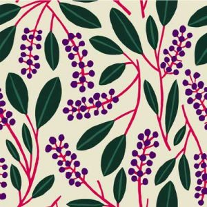 POKEBERRY PURPLE FABRIC PATTERN PRODUCT