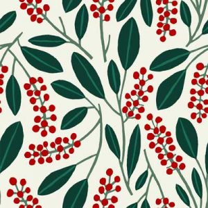 POKEBERRY RED FABRIC PATTERN PRODUCT