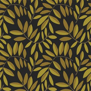 pomegranate leaves product fabric image