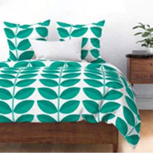 DOGWOOD PATTERN DUVET COVER PRODUCT