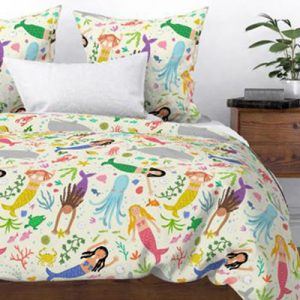 MERMAIDENS-24--duvet-cream product image