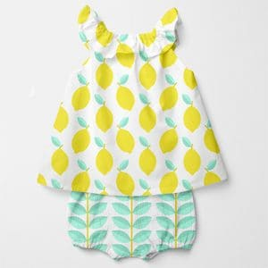 dogwood-mint-green-lemon pattern-mockup-dress