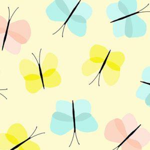 princess-butterflies-fabric-pattern