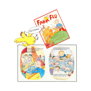 Nadine Westcott book Farm Flu
