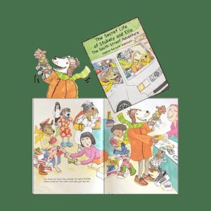 Nadine Westcott book The Secret Life of Ella and Stukely