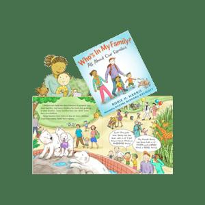 Nadine Westcott book Who is My Family